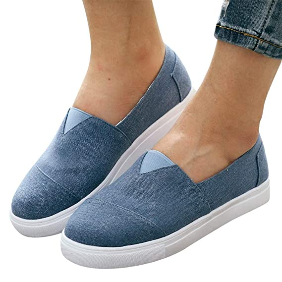 Canvas Shoes for Women Slip ons Gibobby