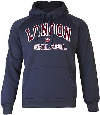 Sudadera con capucha para hombre, unisex, de Inglaterra, Reino Unido, de gran calidad
