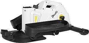 DoufitUnderDeskEllipticalMachinesforHomeUse,EM-03 Quiet & Compact MiniElliptical Trainer Pedal Exerciserfor Office FitnesswithLCD MonitorandAdjustableResistance