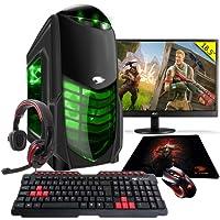 Pc Gamer G-fire Htg-311 A10 9700 8gb (radeon R7 2gb Integrada) 1tb Monitor 18,5 - Verde