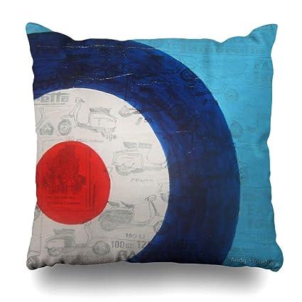 Amazon Com Ahawoso Throw Pillow Cover Square 20x20 Inches