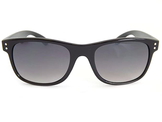 fce98c335d1 Bloc Wave Sunglasses Shiny Black White Detail F250  Amazon.co.uk  Clothing