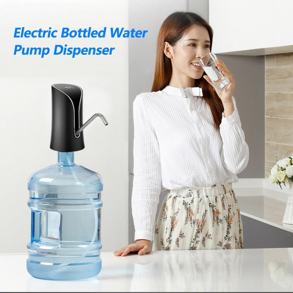Yosooo Drinking Water Pump Electric Drinking Water Pump Dispenser for Home Kitchen Office (Black) by Yosooo (Image #8)