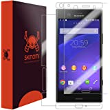 Skinomi Full Body Skin Protector Compatible with Sony Xperia XZ1 Compact (Screen Protector + Back Cover) TechSkin Full…