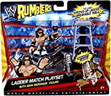 WWE Rumblers John Morrison Figure with Ladder Match Playset