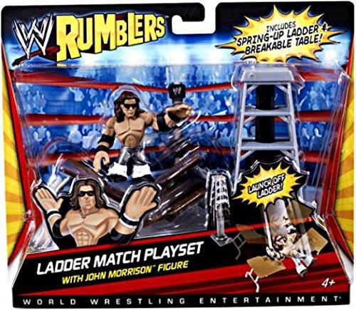 WWE Rumblers John Morrison Figure with Ladder Match Playset