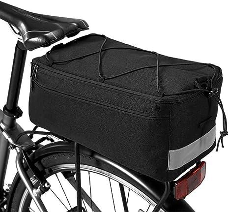 Llxxx Bolsa de Bicicleta-Bolsa de Asiento Trasero de Bicicleta ...