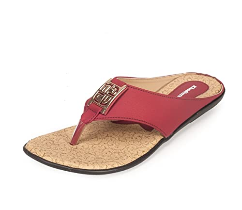 70ae57882 Khadims Womens Faux Leather Flats available at Amazon for Rs.379