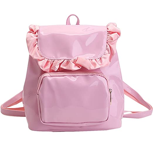 29a918015c6b Girls Lacework Backpack Macramé MIni Candy Color Leisure Casual Travel Bag  Waterproof Rucksack Satchel