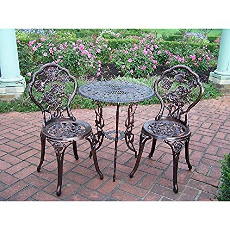 Delicieux NEW Rose 3 Piece Bistro Patio Set