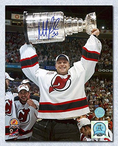 Martin Brodeur Signed Picture 16x20 Stanley Cup Autographed Nhl