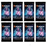 Core Set 2019 Magic the Gathering 8 Blistered Booster Packs
