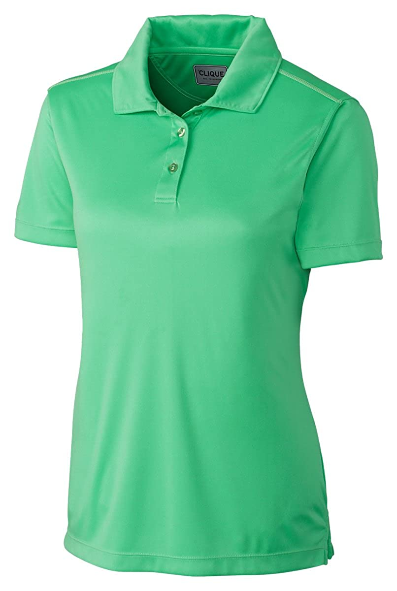 Clique Ladies Moisture Wicking Polyester Polo Shirt At Amazon