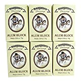 Barbero Alum Block 2.64 oz / 75 g Pack of 6