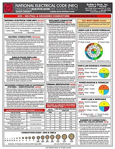 NFPA 70 2017: National Electrical Code (NEC) Spiralbound, Fast Tabs, Quick Card and Ugly's Electrical References, 2017 Editions, Package by NEC (Image #4)