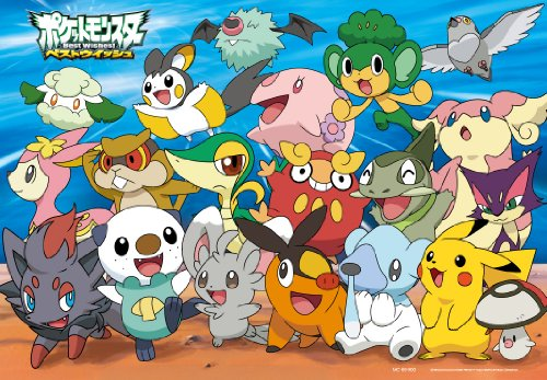 Starting-MC-60-900-in-the-Pokemon-Best-Wishes-Child-Puzzle-60-piece-smile-japan-import