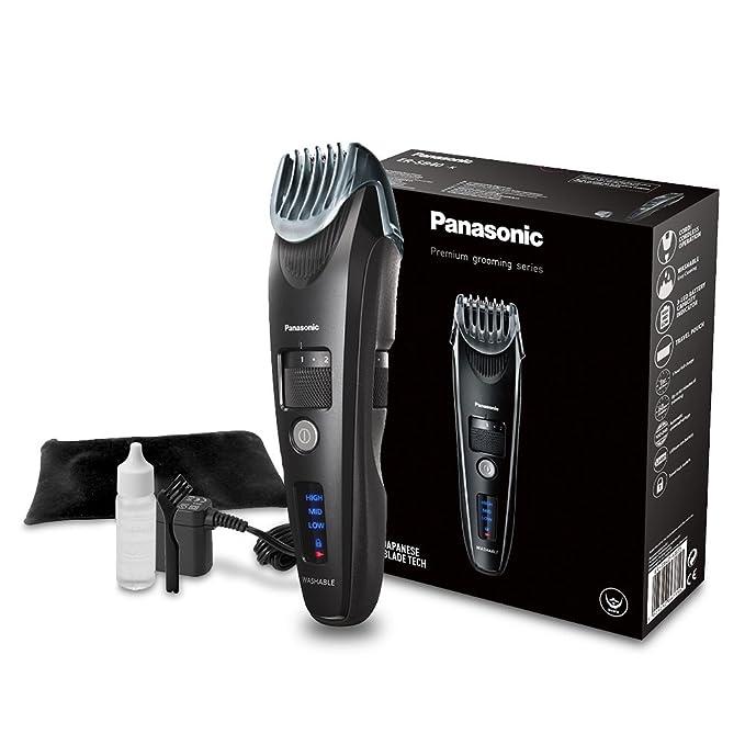 Panasonic ER-SB40-K803 Barbero semi profesional de alta calidad y precisión/Recortadora de barba y pelo Premium, color negro: Amazon.es: Salud y cuidado ...