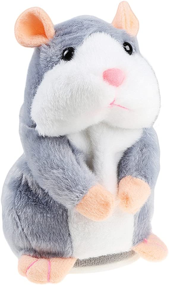 Cheeky Hamster Talking Mouse Pet Christmas Toy Speak Sound Record Xmas Gift x 1