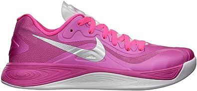 desarrollando Emoción calor  Amazon.com | NIKE Women's Zoom Hyperfuse Low - Pink Flash/Metallic Silver,  8.5 B US | Basketball