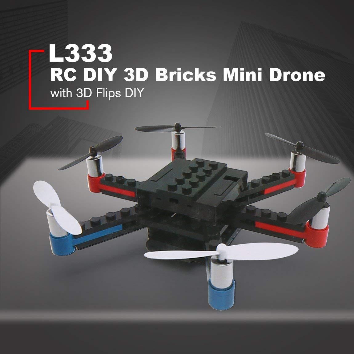 73JohnPol L333 Mini Micro RC RC Building Block Ladrillos 3D ...