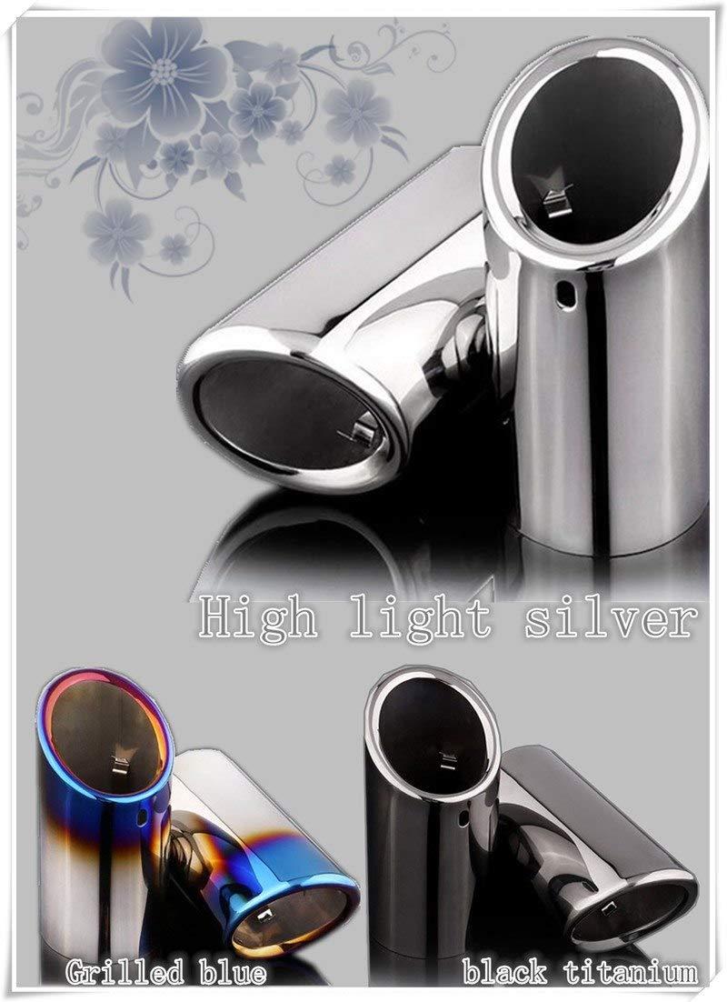 HOT Car Styling Muffler Tail Pipe Sticker for VW Golf 6 7 MK6 1.4T MK 1.4 GTI Jetta Scirocco Sagitar TSI Accessories
