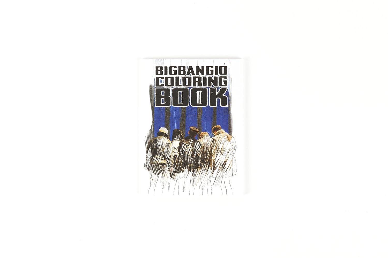 Bigbang The Concert 10TH Coloring Book YG Entertainment
