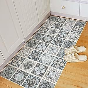 Chenooxx los muebles de estilo n rdico sal n ba o alfombra for Alfombras comedor amazon