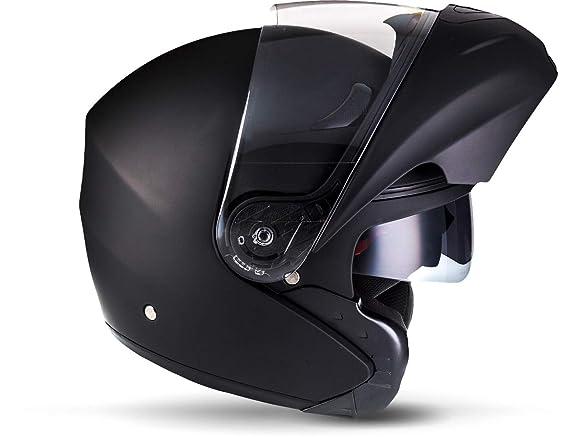 Amazon.es: MOTO F19 Matt Black · Scooter Urban Casco da motocicletta modulare Moto Urbano Cruiser Sport Flip-Up Modular-Helmet Integrale · ECE certificado ...