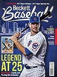 #4: Beckett Baseball Monthly Price Guide Card Value Magazine June 2017 Kris Bryant