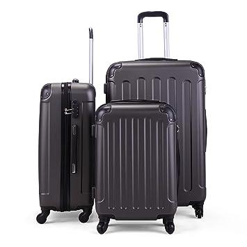 Amazon.com: Juego de 3 piezas de maletas para carrito de ...