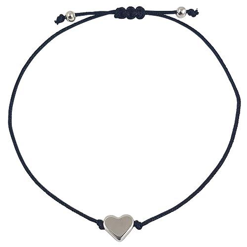 Nilian Herz Armband in silber – Filigrane Frauen Armbänder - perfekt  geeignet als Geschenk – Hochwertiges e3bd79aa3a