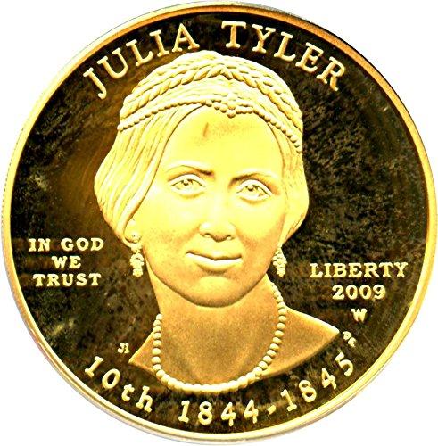 2009 W $10 First Spouse Julia Tyler Ten Dollar PR69 PCGS DCAM