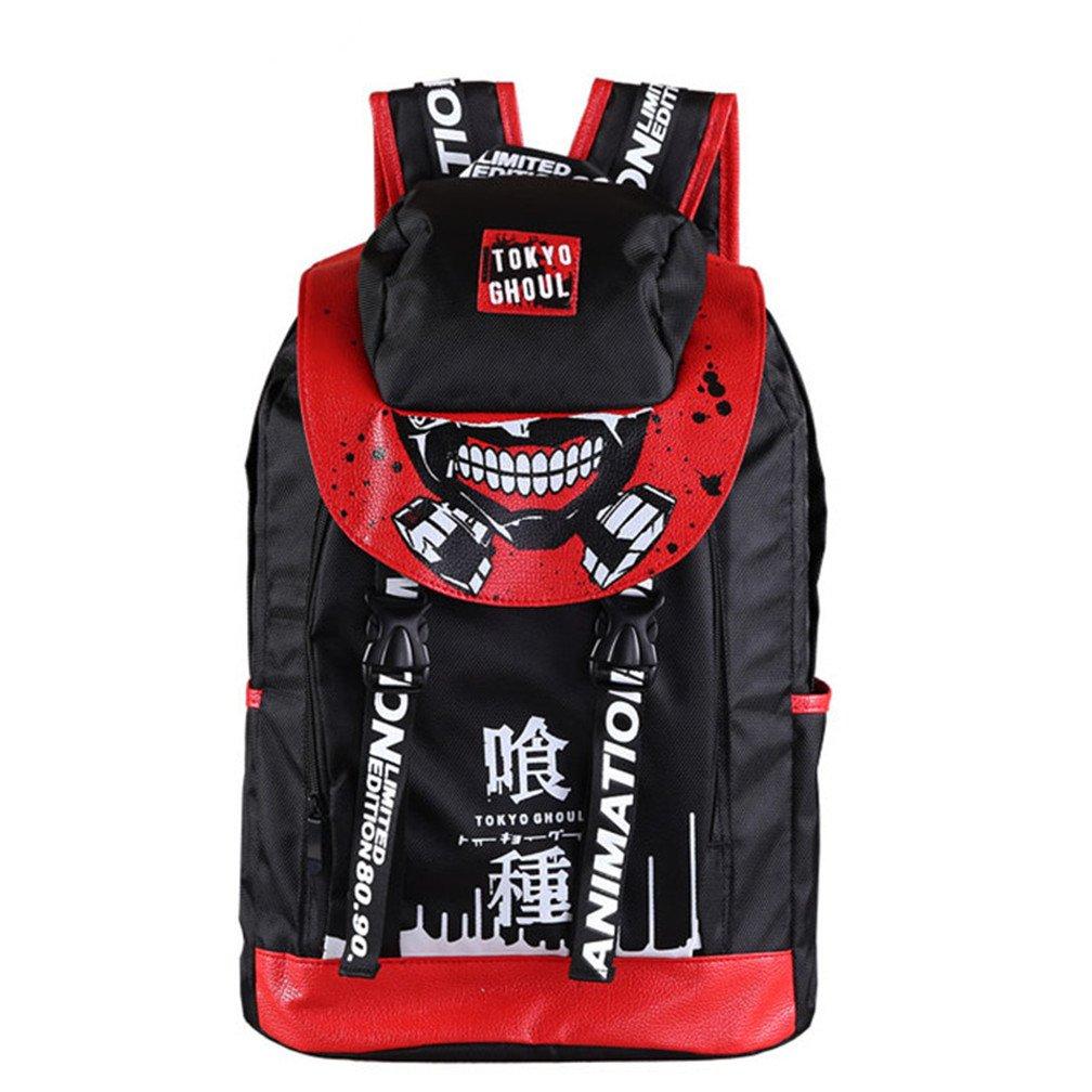YOYOSHome Tokyo Ghoul Anime Kaneki Ken Cosplay Bookbag College Bag Daypack Backpack School Bag (1)