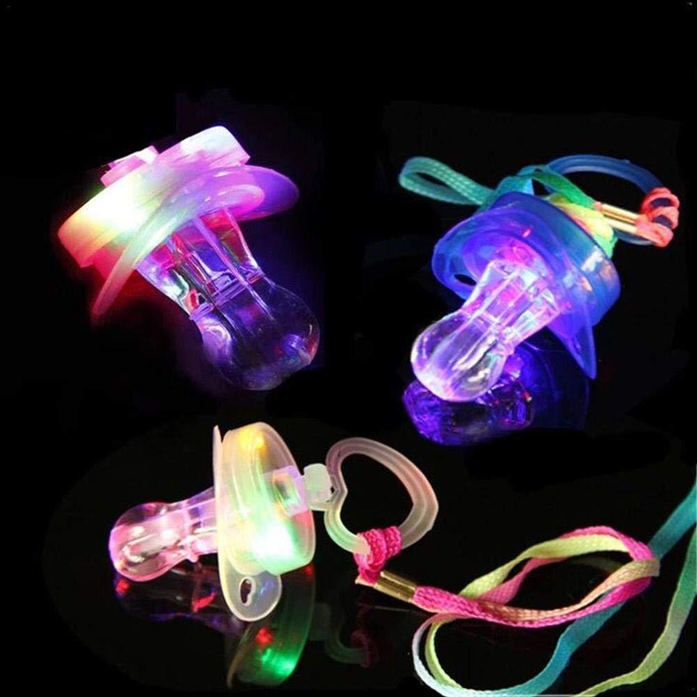 Surtido LED chupetes resplandor en la oscuridad chupete ...