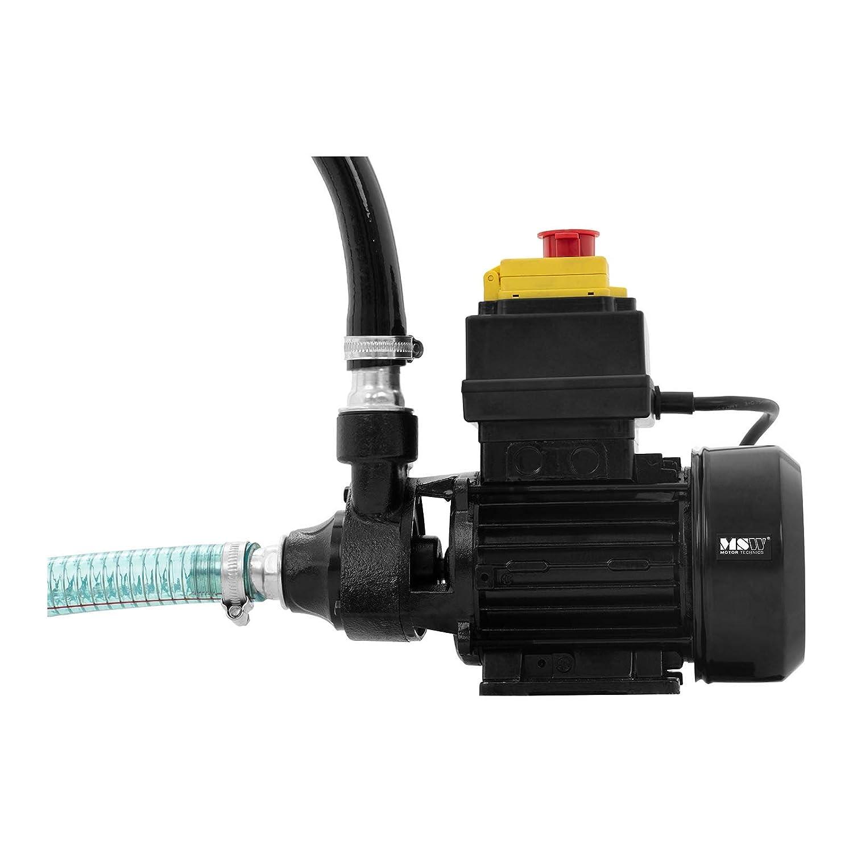MSW MSW-OP40S Dieselpumpe 40 l//min 370 W Saugleistung 5 m /Ölpumpe Heiz/ölpumpe