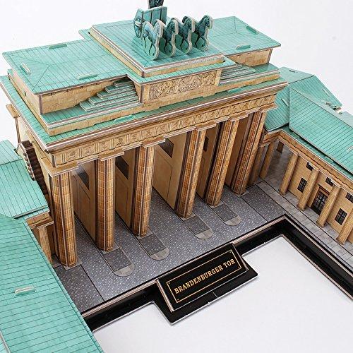CubicFun - Puzzle 3D Puerta de Brandenburgo (771MC207): Amazon.es: Juguetes y juegos