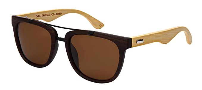 Amazon.com: Edge I-Wear 540817BM-P - Gafas de sol de madera ...
