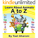 Children's eBook: Learn about  Animals  A to Z  (Preschool Books) Children's books about how to deal with friendship (values book) Books for Early/Beginner ... (Children's Books Collection Book 7)