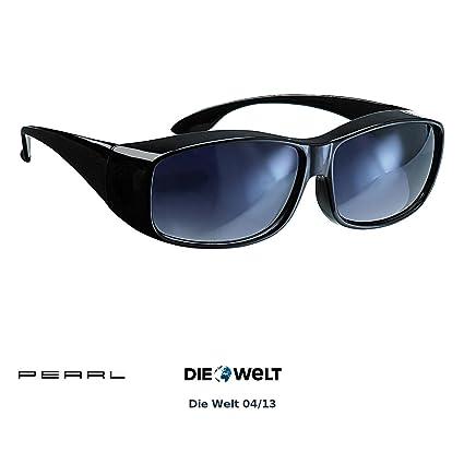 Pearl Unisex Erwachsene überziehbrille überzieh Sonnenbrille Day Vision Für Brillenträger Uv 380 übersonnenbrille Schwarz Nc 1414