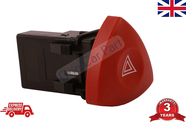 Hazard Warning Light Switch Vivaro Trafic Laguna High Quality