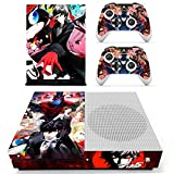 Vanknight Xbox One S Slim Console Remote Controllers Skin Set Vinyl Skin Decals Stciker Cover for Xbox One Slim (XB1 S) Console Review