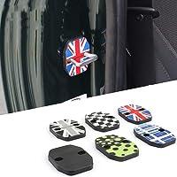 CHOUREN 2pcs Car Door Rust Resistant Door Lock Buckle Cover For Mini Cooper F55 F56 F60 (Color : JCW)