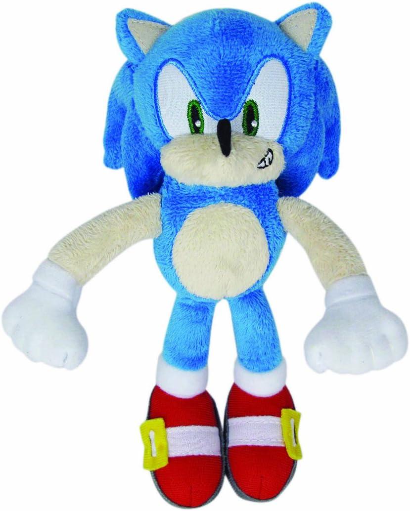Amazon Com Jazwares Sonic The Hedgehog Plush 8 Modern Sonic Toys Games