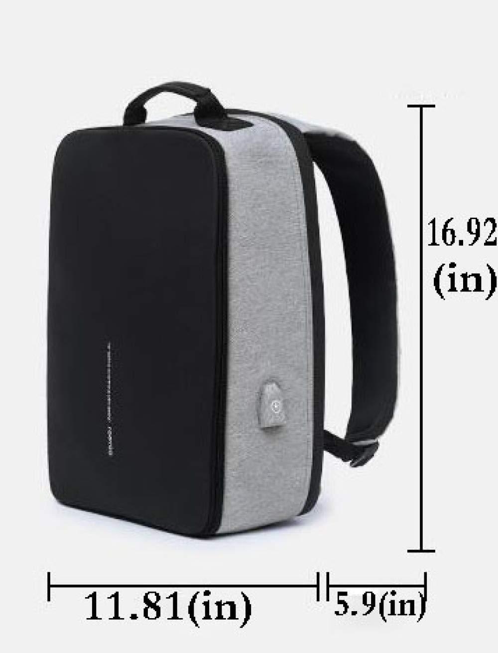 ad2a12fb68 YANHNG Zaino Zaino Zaino da Viaggio Portatile da Uomo E da Donna con Porta  USB di Ricarica per ...