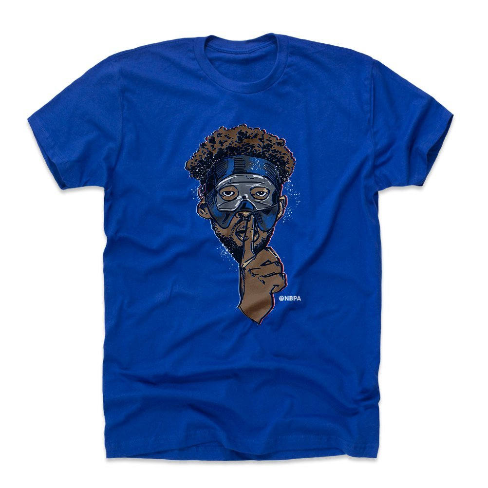 bbde2f43b Amazon.com   500 LEVEL Joel Embiid Shirt - Vintage Philadelphia Basketball  Men s Apparel - Joel Embiid Mask   Sports   Outdoors
