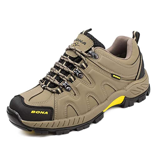Zapatillas de Senderismo para Hombre Zapatillas Deportivas Antideslizantes Climing al Aire Libre All Seasons Jogging Trekking Black 7 UK Sneakers: ...
