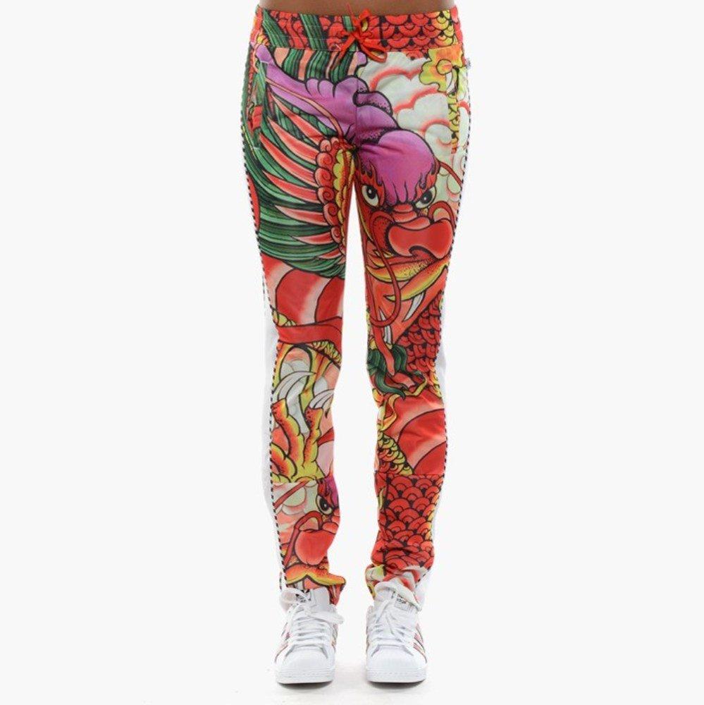 866e96d5a4b659 Amazon.com: Adidas Originals Women's Rita Ora Dragon Print Track Pants  S23580,Small: Sports & Outdoors