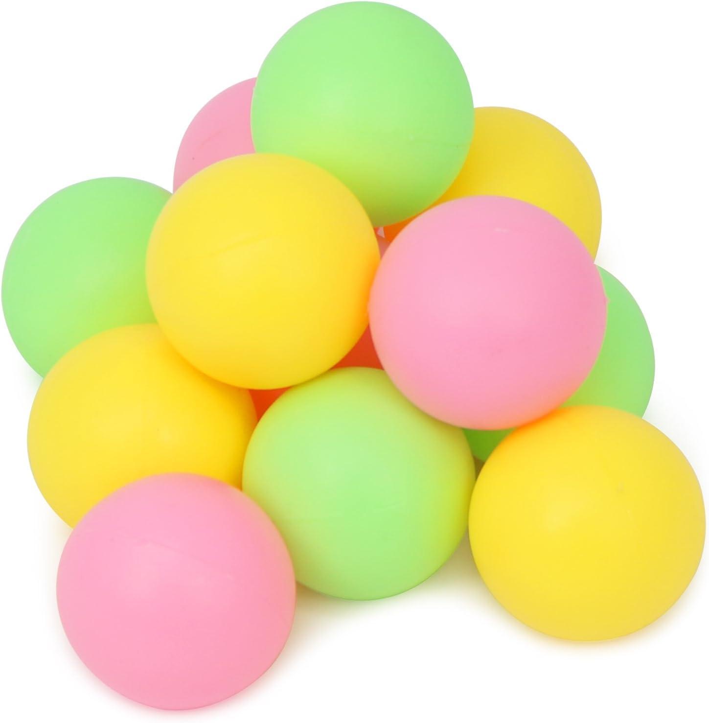 com-four/® 6-piece beach ball set 06-piece mix beach ball rackets made of wood and rubber balls in