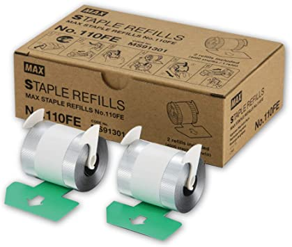 MAX NO.110FE Staple Refill for EH-110F Electric Stapler