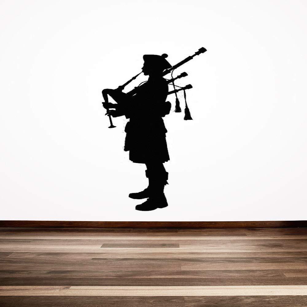 Gaitero escocés creativo especial pegatinas de pared Escocia ...